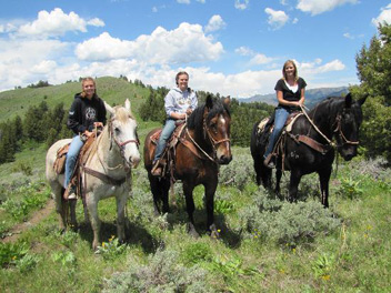 willow creek horseback ride