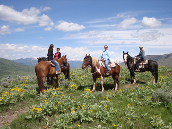 horseback riding in Jackson Hole Wyoming 2013 season